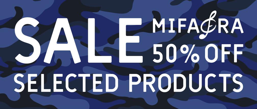 MIFARA 14SS 07.18 SALE 50% START!